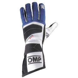 Rękawice OMP Tecnica Evo - Niebieski - produkt z kategorii- Rękawice motocyklowe