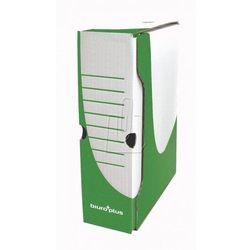 Biuro plus Pudełko archiwizacyjne 100mm zielone b+ (5904662236874)