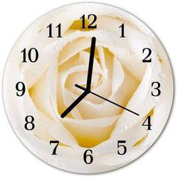Zegar ścienny okrągły róża marki Tulup.pl