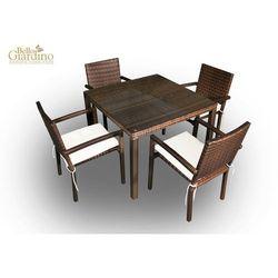 Zestaw mebli stołowych ADORAZIONE ciemny brąz (MS.004.001)