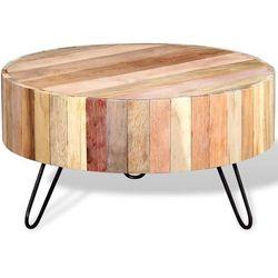 Stolik kawowy z drewna odzyskanego marki Vidaxl