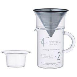 Zaparzacz do kawy slow coffee style z dzbankiem na 4 filiżanki marki Kinto