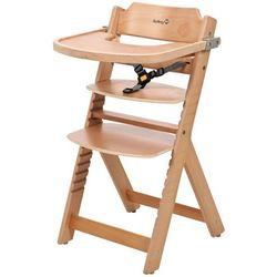 wysokie krzesełko timba z naturalnego drewna, 27620100 marki Safety 1st