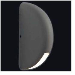 Elewacyjna LAMPA ścienna MILA 089 kinkiet OPRAWA LED 3W do ogrodu IP44 outdoor grafitowa