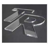 Cięcie laserem plexi bezbarwnej grubość 2mm marki Folplex