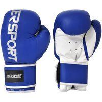 Rękawice bokserskie  a1329 niebiesko-biały (8 oz) marki Axer sport