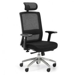 Krzesło biurowe Alta MF, czarne