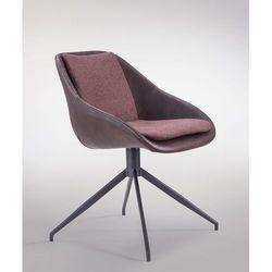Obrotowe krzesło z poduszką do jadalni Poter Soft