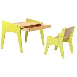 FunDesk Omino Green - Zestaw dziecięcych drewnianych mebli