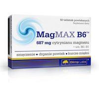 MagMax B6 Magnez 50 tabs Olimp