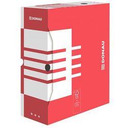 Pudełko archiwizacyjne 120mm Donau czerwone (5901498109754)