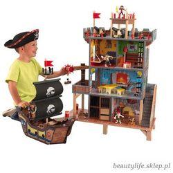 Kidkraft Forteca piratów wielka statek wieża
