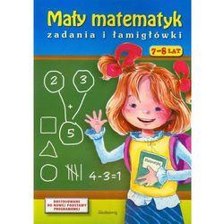 Mały matematyk Zadania i łamigłówki 7-8 lat, książka w oprawie miękkej