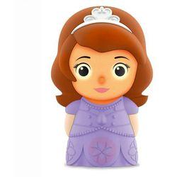 Disney - lampka nocna na baterie softpal led księżniczka sofia wys.12,5cm marki Philips