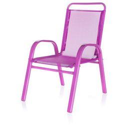Happy Green Krzesełko ogrodowe dziecięce różowy 50XT2930A