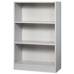 Fino - regał biurowy, 2 półki, szer. 800 mm, jasnoszary. płyty wiórowe pokryte m marki Unbekannt