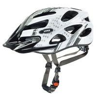 Uvex Kask rowerowy  onyx w biało-srebrny