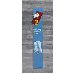 Tablica suchoś. -magn. SIGEL, 12x78cm, szklana, niebieska