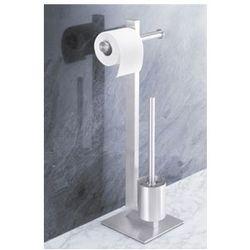 Uchwyt na papier toaletowy oraz szczotka do WC Fresco - sprawdź w wybranym sklepie