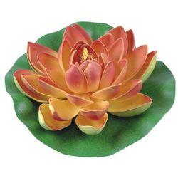 Lilia wodna z gąbki Greenmill fi 19 cm pomarańczowa (5904842672393)