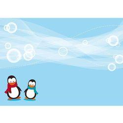 tablica suchościeralna 133 pingwiny