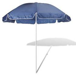 Vidaxl  parasol plażowy, niebieski 240 cm, kategoria: parasole ogrodowe