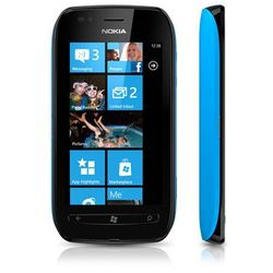 Nokia  lumia 710 8gb niebieska - niebieski \ 2 lata na terenie całego kraju + polskie menu + bez sim locka