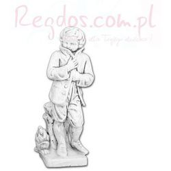 Figura ogrodowa betonowa Dziecko w płaszczu 77cm