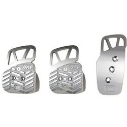 Nakładki pedałów OMP OA/1067/A standard srebrne z kategorii Nakładki na pedały