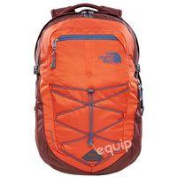 The north face Plecak  borealis - tibetan orange/sequoia red