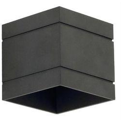 Lampex Kinkiet quado deluxe a czarny - czarny