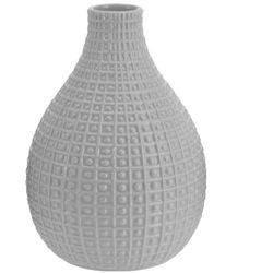 Ceramiczny wazon na kwiaty, dekoracje - wysoki, 26 x Ø 19 cm (5902891243250)