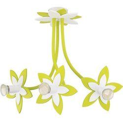 Lampa do pokoju dziecięcego FLOWERS GREEN 50cm (5903139689892)