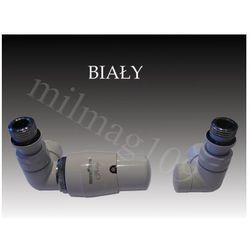 Zestaw zaworów grzejnikowych termostatycznych vision lewy biały od producenta Mera term