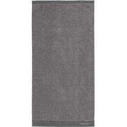 Essenza Ręcznik connect organic lines szary 50 x 100 cm