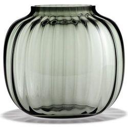 Wazon Primula niski 17,5 cm przydymione szkło, 4340397