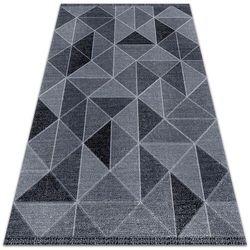 Nowoczesna wykładzina tarasowa Nowoczesna wykładzina tarasowa Kwadraty i trójkąty