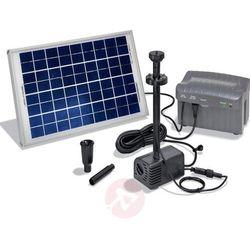 Fontanna ogrodowa solarna Siena LED Esotec 101780, maks. 1500 l/h, maks. 2,8 m (4260057861559)