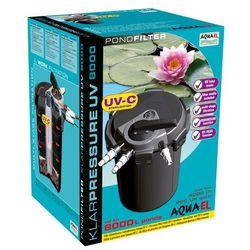 filtr ciśnieniowy klarpressure uv 8000- do 8000l, sterylizator 11w marki Aqua el