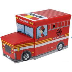 Pojemnik na zabawki - skrzynia, siedzisko