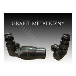 Mera term Zestaw zaworów grzejnikowych termostatycznych vision lewey grafit