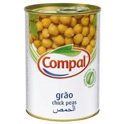 Portugalska ciecierzyca 410g Compal z kategorii Przetwory warzywne i owocowe