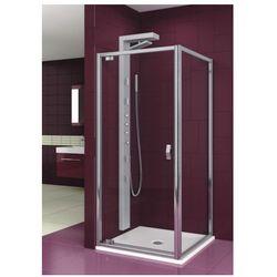 AQUAFORM drzwi Salgado 90 szkło przejrzyste, montaż we wnęce lub ze ścianką 103-06076 - sprawdź w wybran