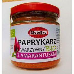 Paprykarz z amarantusem bio 170 g - biotoeko od producenta Biotoeko (produkty wegetariańskie)