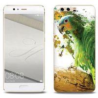 Foto Case - Huawei P10 Plus - etui na telefon Foto Case - zielona papuga