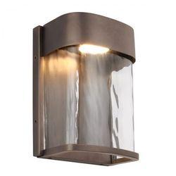 Kichler Ogrodowa lampa stojąca riverwood kl/riverwood3/m elstead zewnętrzna oprawa na taras vintage ip44 wyblakły cynk