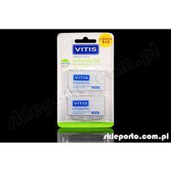 Vitis wosk ortodontyczny bezzapachowy 2 szt - ortodontyczne produkty osłonowe wosk silikon ortodontyczny orto