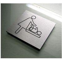 Piktogram Symbol Znak srebro aluminium PRZEWIJAK