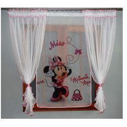 Firana + Panel Myszka Minnie 150x300cm