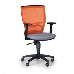 B2b partner Krzesło biurowe venlo, pomarańczowe / szare